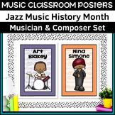 Music Classroom Posters   Jazz Musicians