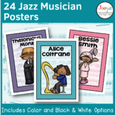 Music Classroom Posters | Jazz Musicians