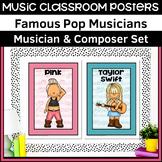 Music Classroom Posters   Pop Musicians