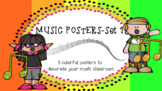 Music Classroom Posters: Set 1