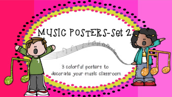 Music Classroom Posters: Set 2
