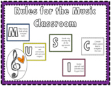 Music Classroom Rules