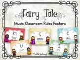 Music Classroom Rules - Fairy Tale Theme
