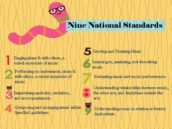 Music Classroom Rules and Standards by Morgan Hanna