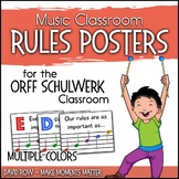 Music Classroom Rules are as Easy as EGBDF!