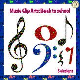 Music Clip Arts: Back to School.