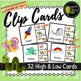 Music Clip Cards-High & Low