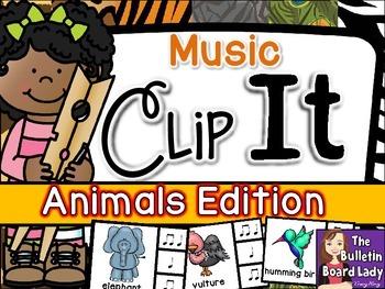 Music Clip It - Animals Edition