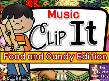 Music Clip It -Food and Candy Edition