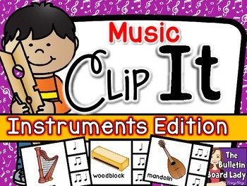 Music Clip It - Instruments Edition
