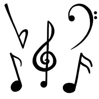 Music Clipart; Musical Madness {MMM Clipart}