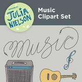Music Clipart Set