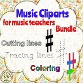 Clip Art for Music Teachers   Bundle
