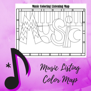Music Color Sheet