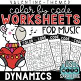 Music Color by Code - Dynamics {Valentine Theme}