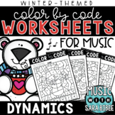 Music Color by Code - Dynamics {Winter Theme}