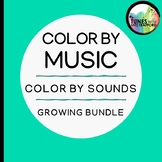 Music Color by Sound: GROWING BUNDLE (one sound, two sound