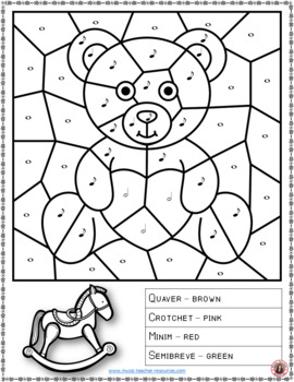 Music Coloring Pages: 15 TOY Themed Music Coloring Sheets
