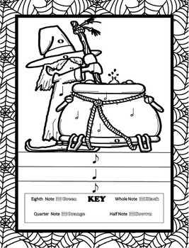 music coloring pages 16 halloween music coloring sheets