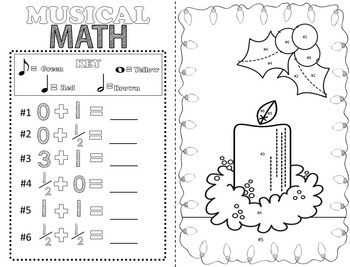Music Coloring Pages (Music Coloring Sheets For 7 Holidays and Seasons!)