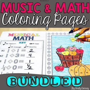 Music Coloring Pages (BUNDLED) 112 Pages
