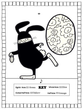 Music Coloring Pages (Spring/Easter)