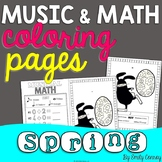 Spring Music Coloring Pages (16 Spring Music Worksheets)