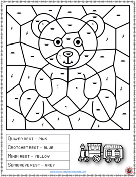 Music Colouring Pages 15 Toy Themed Music Colouring Sheets Tpt
