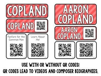 Music Composer Mini Pack- Aaron Copland