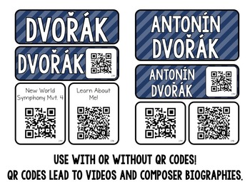 Music Composer Mini Pack- Antonin Dvorak