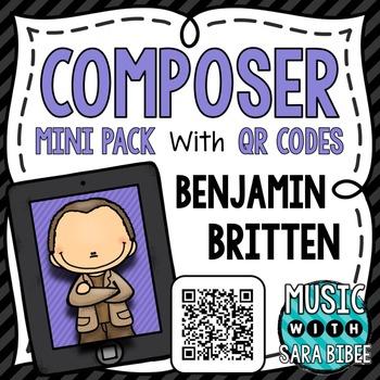 Music Composer Mini Pack- Benjamin Britten