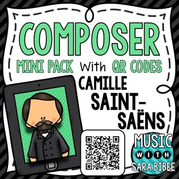 Music Composer Mini Pack- Camille Saint-Saens