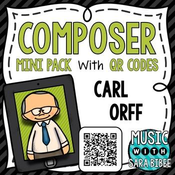 Music Composer Mini Pack- Carl Orff