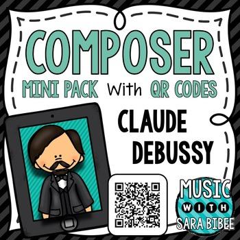Music Composer Mini Pack- Claude Debussy