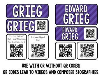 Music Composer Mini Pack- Edvard Grieg