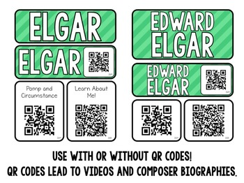 Music Composer Mini Pack- Edward Elgar