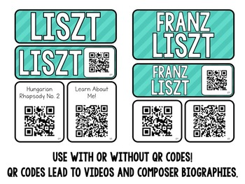 Music Composer Mini Pack- Franz Liszt