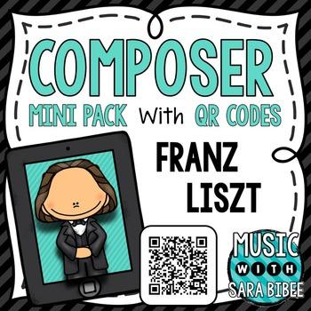 Music Composer Mini Pack- Franz Liszt