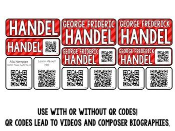 Music Composer Mini Pack- George Frideric Handel