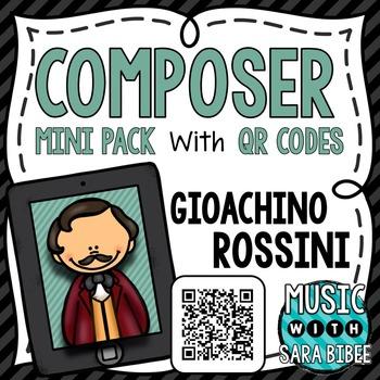 Music Composer Mini Pack- Gioachino Rossini