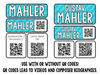 Music Composer Mini Pack- Gustav Mahler