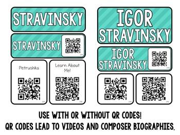 Music Composer Mini Pack- Igor Stravinsky