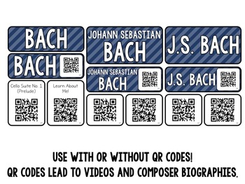 Music Composer Mini Pack- JS Bach