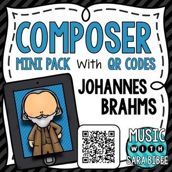 Music Composer Mini Pack- Johannes Brahms