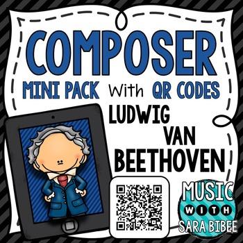 Music Composer Mini Pack- Ludwig van Beethoven