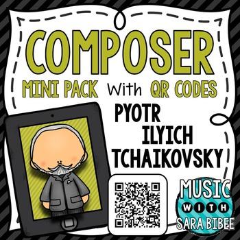 Music Composer Mini Pack- Pyotr Ilyich Tchaikovsky