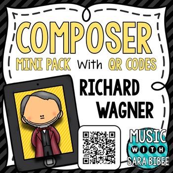 Music Composer Mini Pack- Richard Wagner