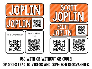 Music Composer Mini Pack- Scott Joplin