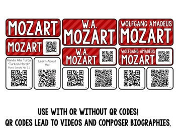 Music Composer Mini Pack- Wolfgang Amadeus Mozart