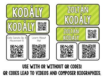Music Composer Mini Pack- Zoltan Kodaly